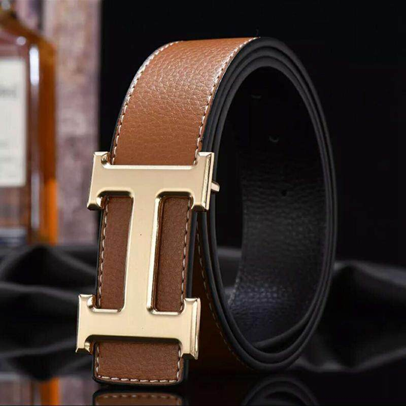 f695aabe064 Product details of 2019 New Hermes Belt Fashion H Buckle Belt For Men Women  Luxury Belts