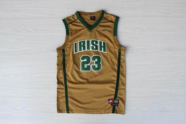 a73b7bd5d58 Product details of Irish High School  23 LeBron James Jersey Men s  Throwback Jersey