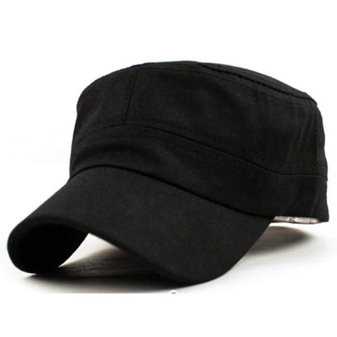 Adjustable Hat Women Men Baseball Army Plain Outdoor Cadet Military Cap Travel