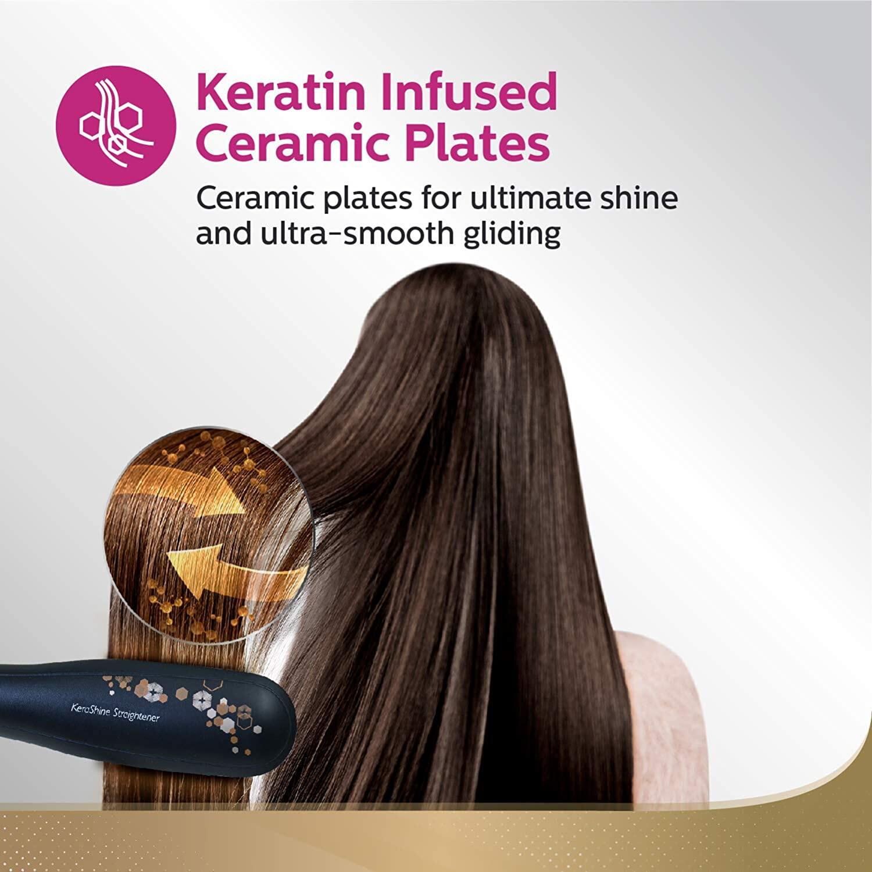 Philips HP8316/00 Kerashine Hair Straightener 9