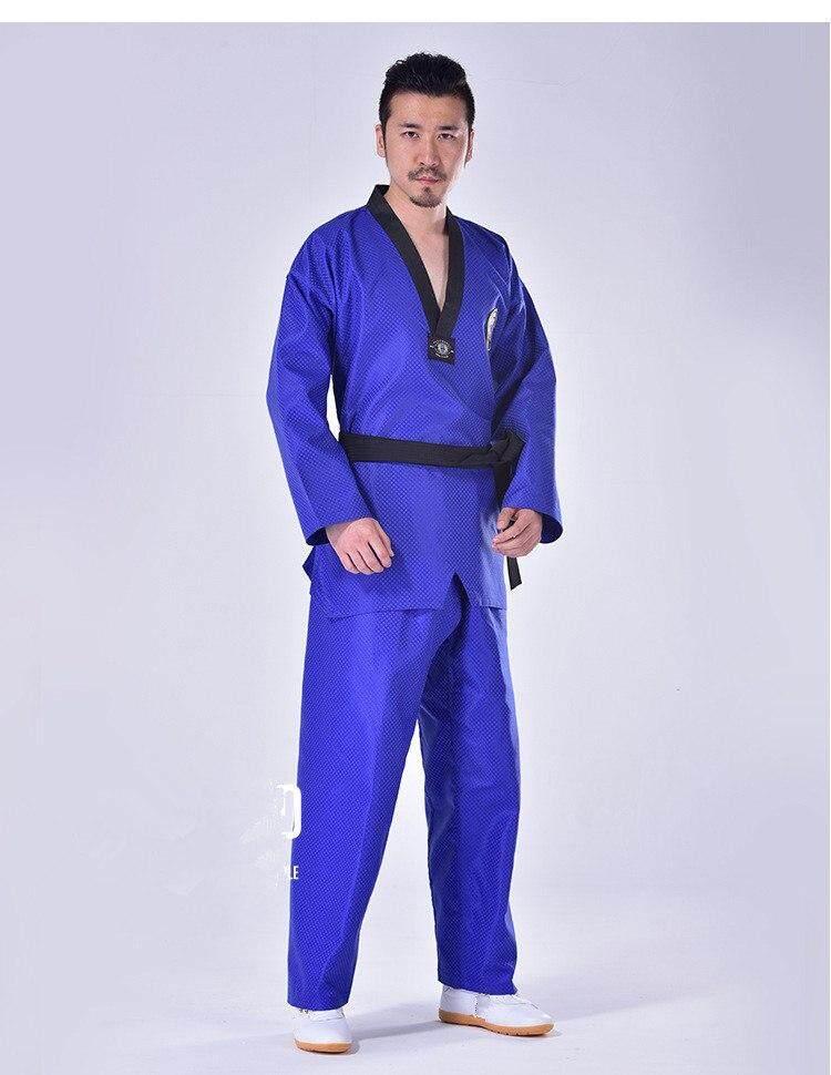 Võ phục Taekwondo Dobok xanh dương - ảnh 4