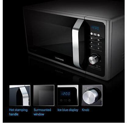 Stylish microwave