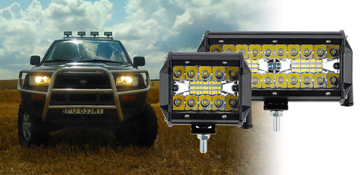 Willpower 2pc 4 inch 27W LED Work Lights Offroad LED Spot Light Bar 12V 24V Led Pods Waterproof IP67 Fog Driving Lights for Car 4x4 Tractor Truck ATV UTV SUV Boat Round
