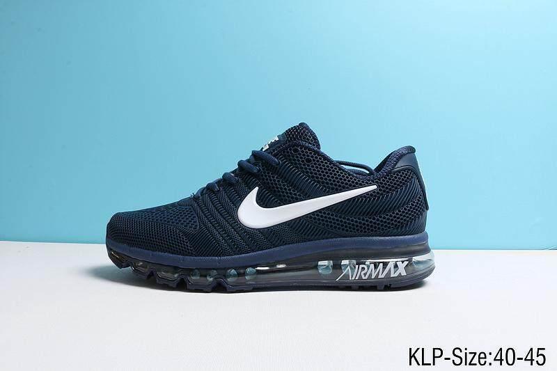 top fashion 53be1 80b67 Dark blue Nike Men's and Women's Air Max 2017 sports Running Shoes EU 40-45