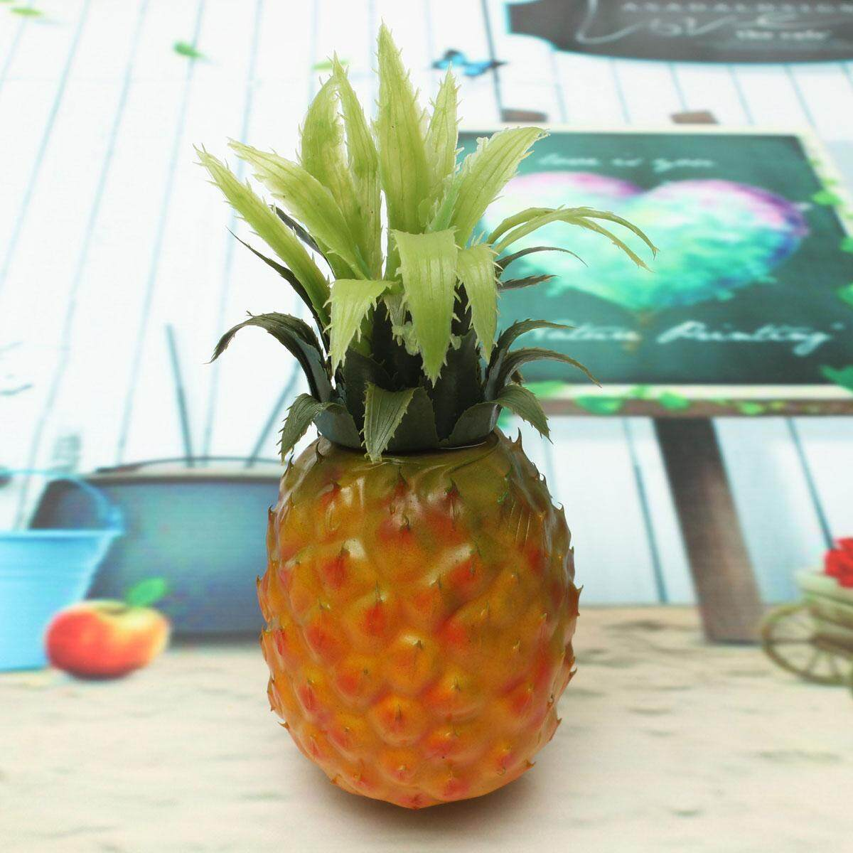 Artificial Pineapple Plastic Fruit Fake Food Home Kitchen Decor