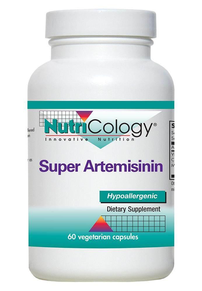 Image result for Nutricology Super Artemisinin, Artemisinin and Artemisia Oil Hypoallergenic 60 Vegetarian Capsules
