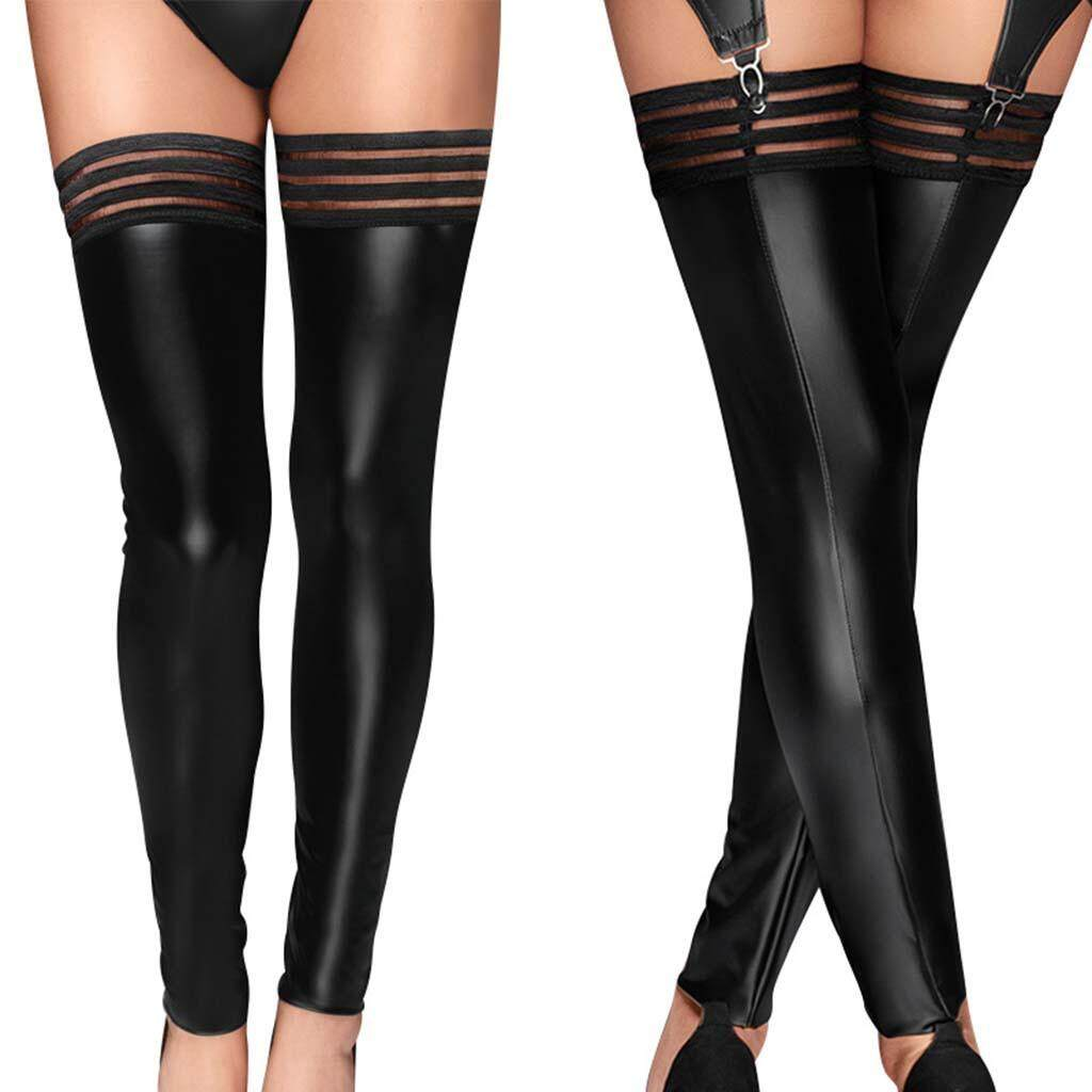 Pantyhose Club (ready stock)inner beauty shine new arrival best pick latest trends new fashion female pantyhose club wear socks leather stockings pantyhose cod