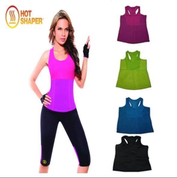 4574479230d47 Hot Shapers NEOTEX shirt Stretch Neoprene Slimming Vest Body Shaper ...