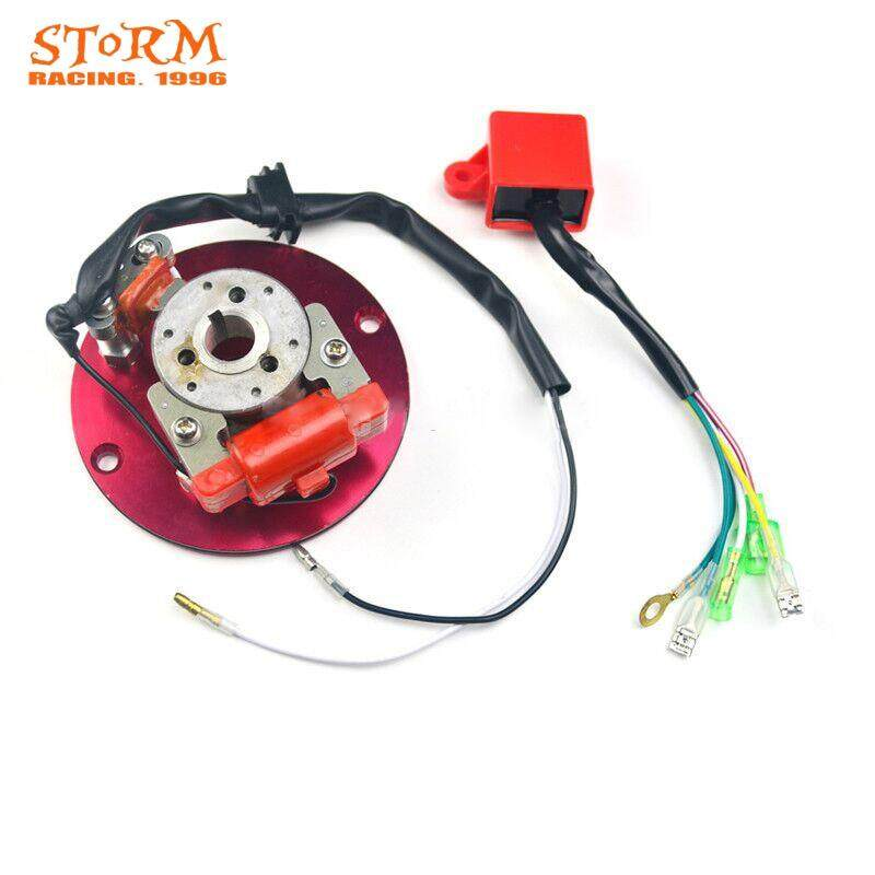 Good Quality Off-road Motorcycle Horizontal Engine Refit Magneto Generator  Rotor Racing Stator for 110cc 125cc 140cc
