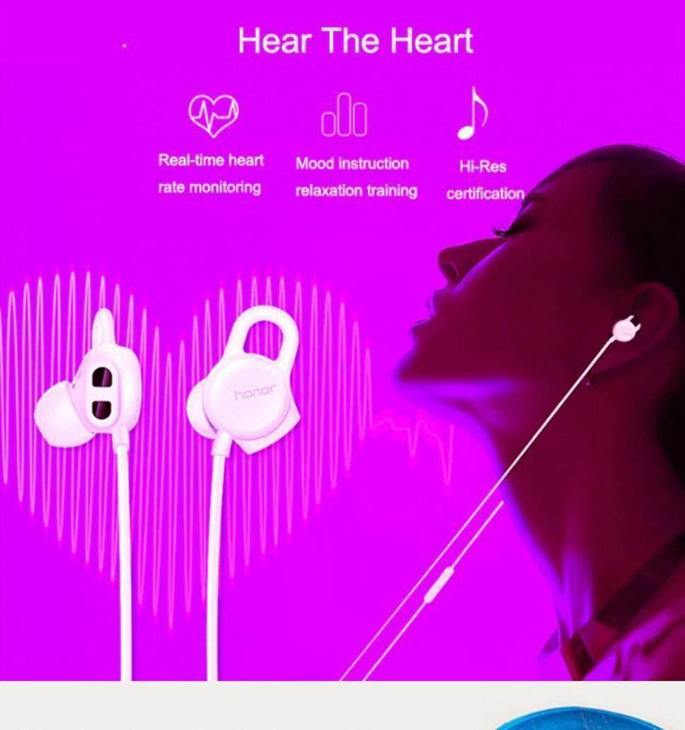 Huawei Honor AM16 HIFI Earphones Sport Headset With Mic Heart Rate Mood  Testing