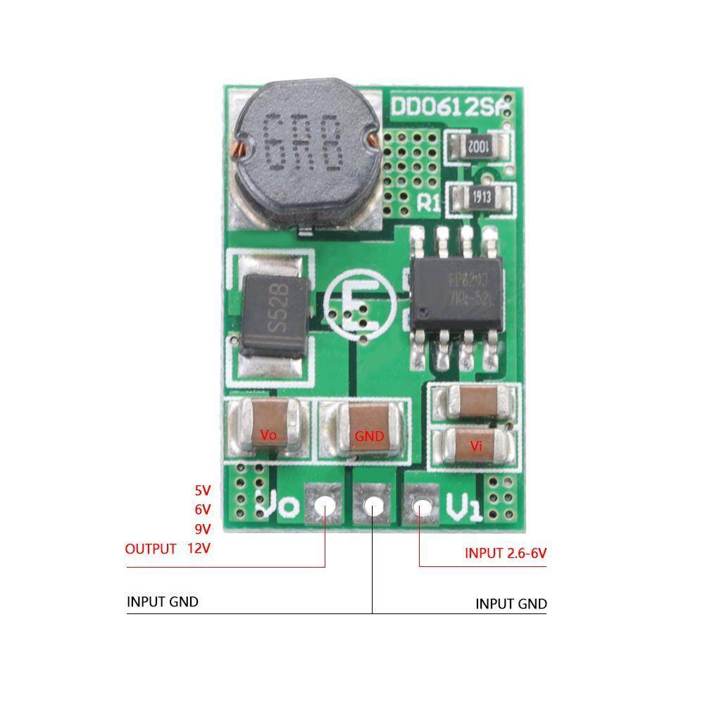 12V/3 5A DC-DC Step-up Boost Voltage Converter Module 3V 3 3V 3 7V 5V to 12V