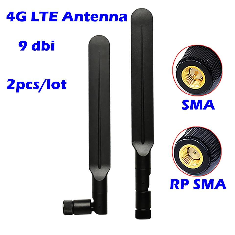 2pcs 4g Lte Wifi Antenna 9dbi High Gain Wifi Extender Booster Hotspot For Verizon At T Sprint T Mobile And Modem Router Cellular Lazada