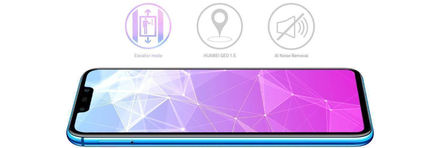 Robust connectivity of Huawei nova 3i mobile