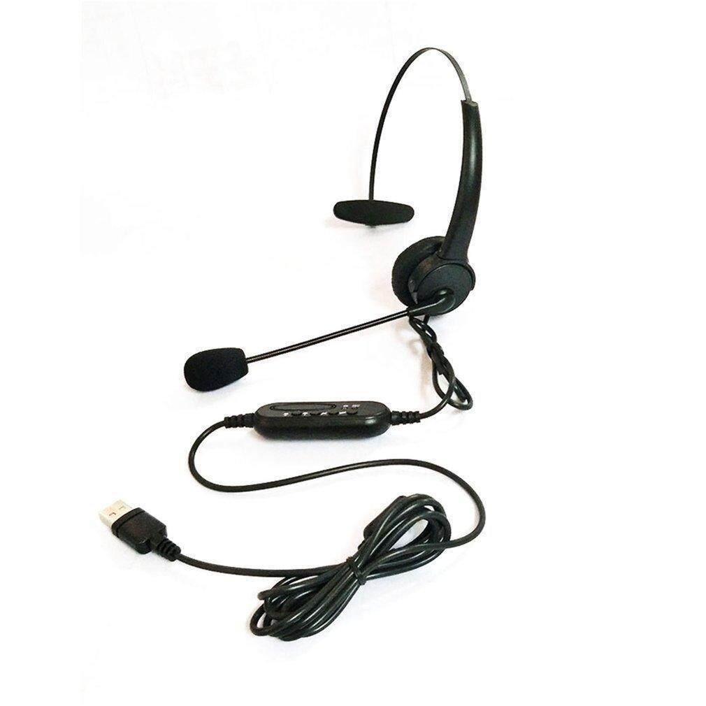 Usb Headset Microphone Adjustable Noise Canceling Earphone For Pc Laptop Buy Sell Online Best Prices In Srilanka Daraz Lk