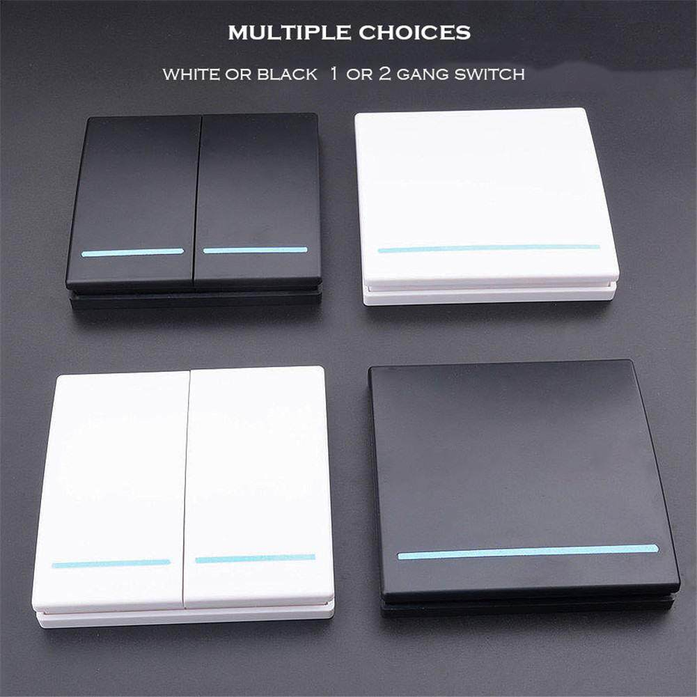 433Mhz Wireless RF Remote Control Switch AC 110V 220V Receiver Wall Panel Transmitter Hall Bedroom Ceiling Lights Wall Lamps 7.JPG