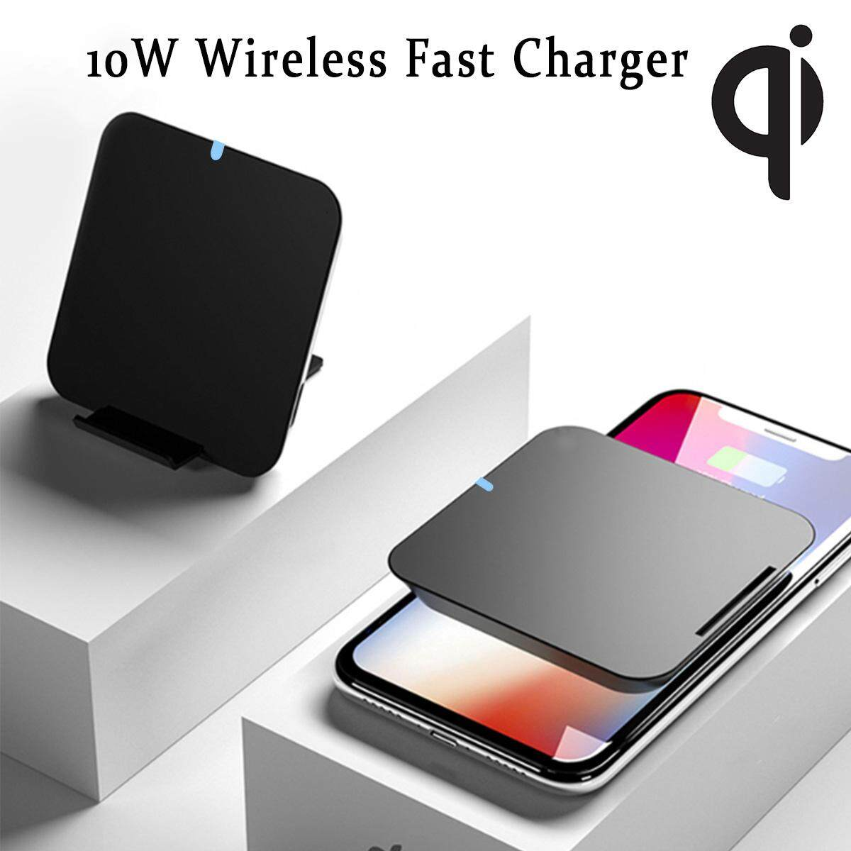 【Free Shipping + Flash Deal】10W Wireless Fast Charger 2 In 1 Portable Power  Bank Qi Charging Pad For Iphone
