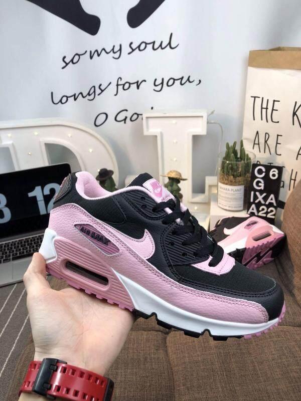 2019 Fashion Original original Nike Air Max 90 High quality air cushion Retro Running Shoes casual sports shoes sneakers for women Discount Sale