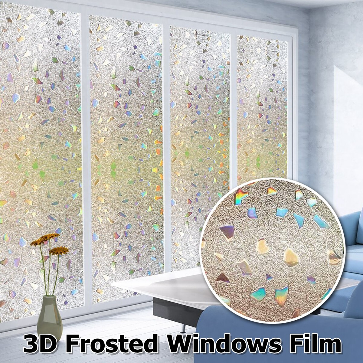 Window Film Sticker Static Decorative