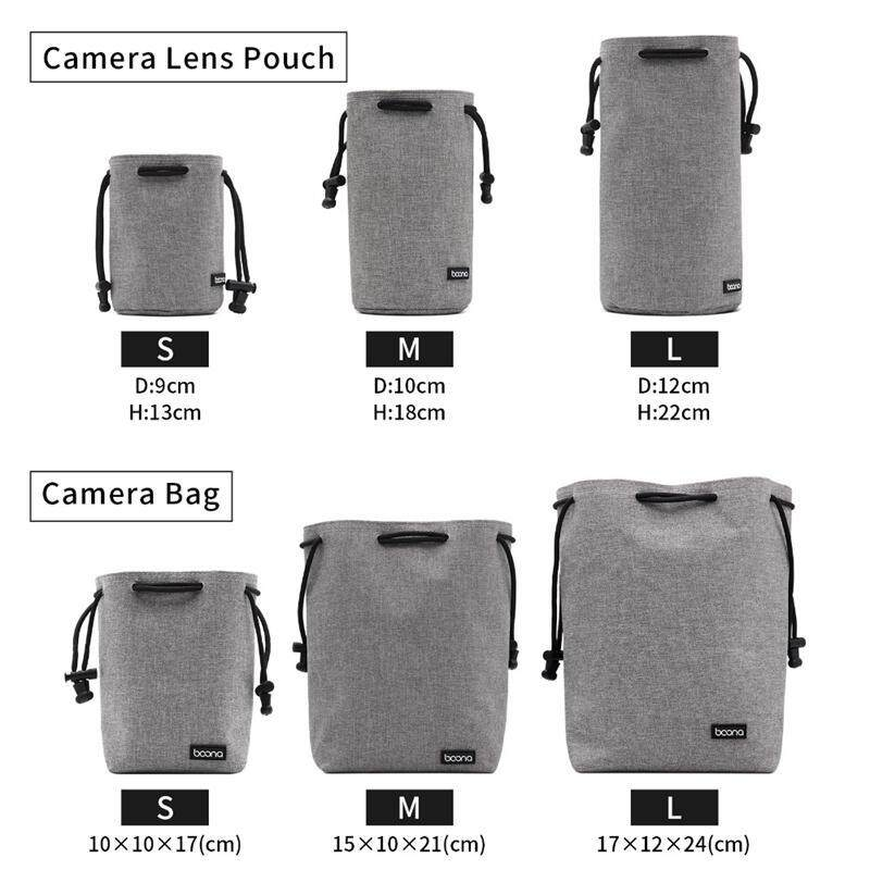 d95a873a99a1 Aolvo Velvet Protect Camera Case Bag Waterproof with Lanyard Case for Canon  DSLR Camera and Lens Case