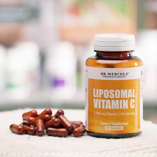Dr. Mercola, Liposomal Vitamin C, 1,000 mg, 60 Capsules