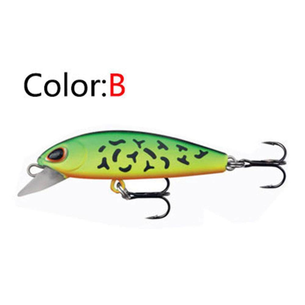 5cm Tackle Outdoor Crankbaits Minnow Baits Fish Hooks Lures Fishing