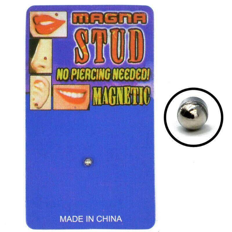 Magnetic Stud Earring Magnet Nose Ear Lip Stud Non Piercing Tragus