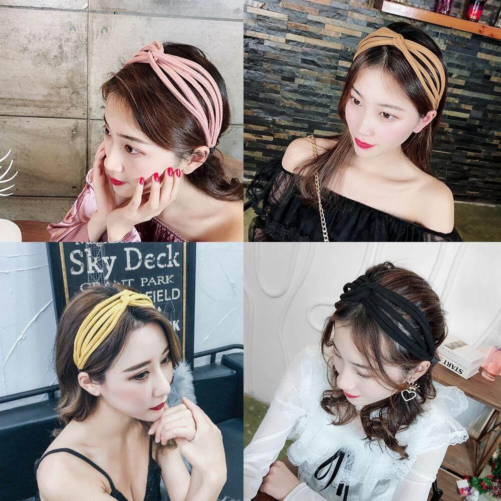Fashion Women Girls Hairband Sweet Bowknot Headband Hoop Hair Accessories