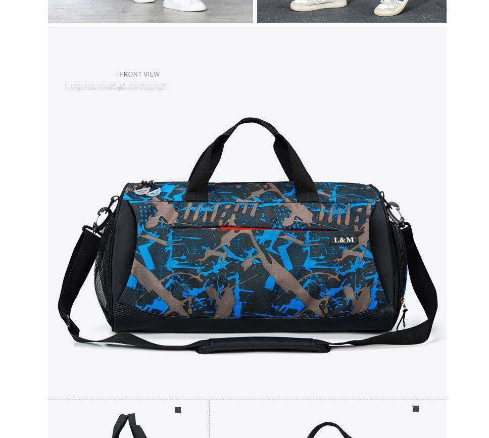 2e0ddbc99fb0 Multifunction Outdoor Sports Fitness Gym Bag Dry And Wet Separation Handbag  Travel Shoulder Bag With Space For Shoes
