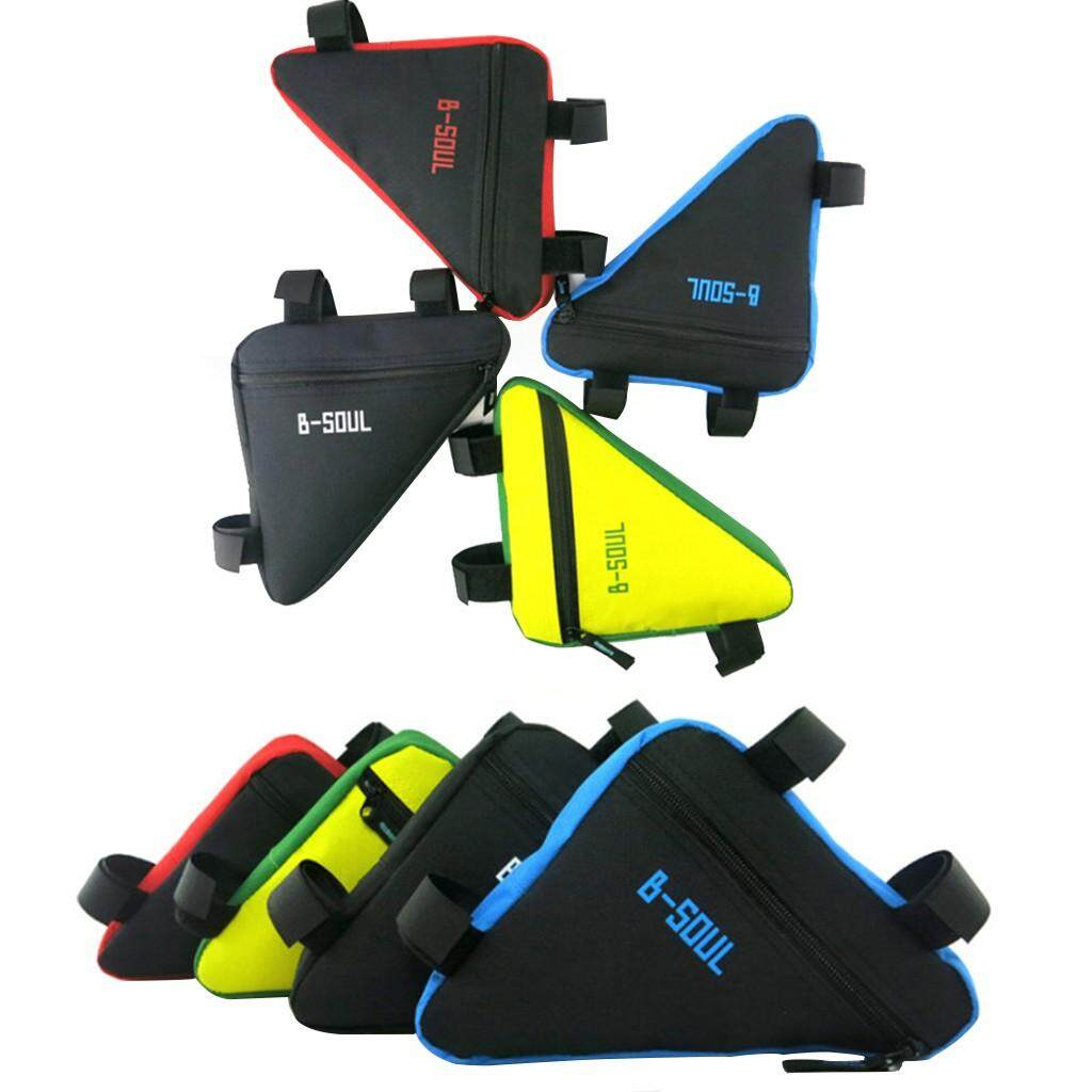 MTB Bicycle Front Triangle Bag Bike Tube Frame Tube Pouch Holder Saddle Panniers