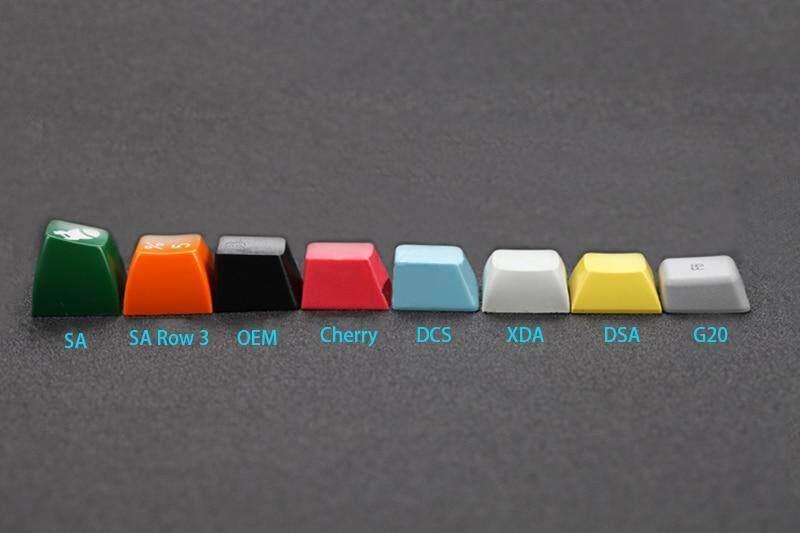 New Arrival XDA 87 ANSI Gray Orange Mixed Lotus Keyset Dye-sub Dye  Sublimation Keycap for MX Mechanical Keyboard TKL 61 Filco