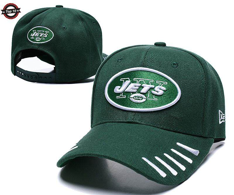 fe34be70 NFL New York Jets High Quality Unisex Sun Visors Adjustable Hats Fashion  Letters Embroidery Baseball Cap Suitable For Outdoor Sports Cycling Fishing  ...