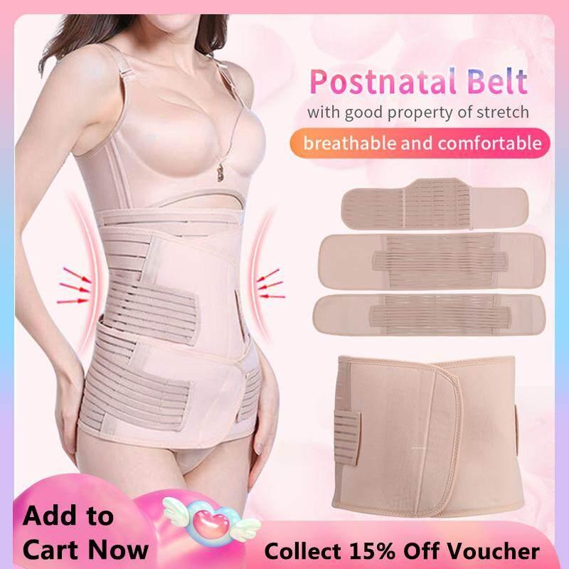 e0fdfedb3ba 3pcs set Postnatal Bandage Post Pregnancy Belt Postpartum Slimming ...