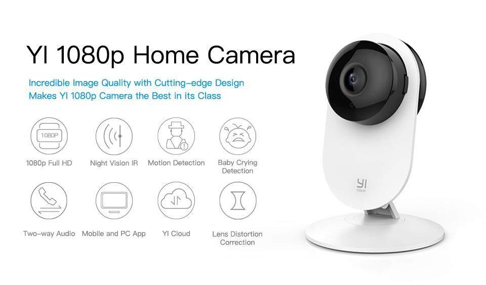 [OFFICIAL YI MALAYSIA WRTY] 2019 English Version Yi Home XiaoYi XiaoMi Ants  Smart Home 1080P 8MP Wifi IP HD Night Vision Infared IR Camera CCTV Video