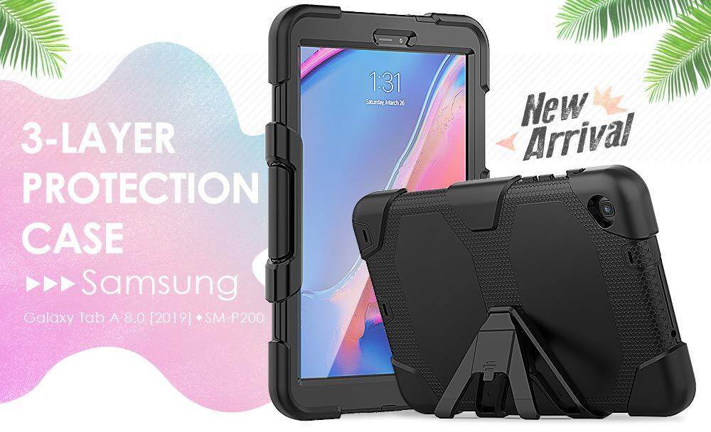1X Front Protector Protection Cover For Samsung Galaxy Tab A 8.0 T350 T351 TB