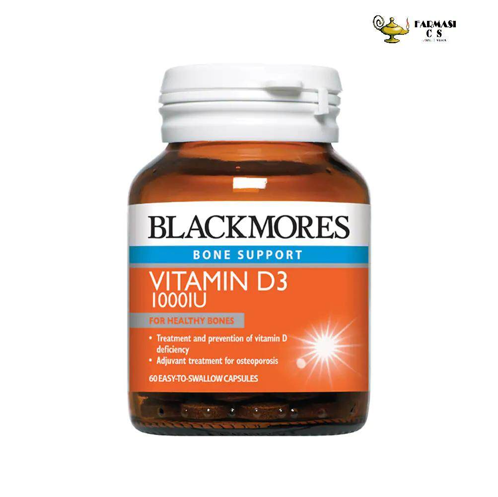 [RAYA SALE] BLACKMORES Vitamin D3 1000iu 60s EXP:01/2022