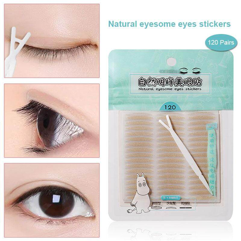 Eyelid Sticker Double Eyelid Patch Eyelid Patch Fashion Magic Makeup Tools  Fiber Breathable Makeup Accessories Invisible Eye Makeup Double Side Double