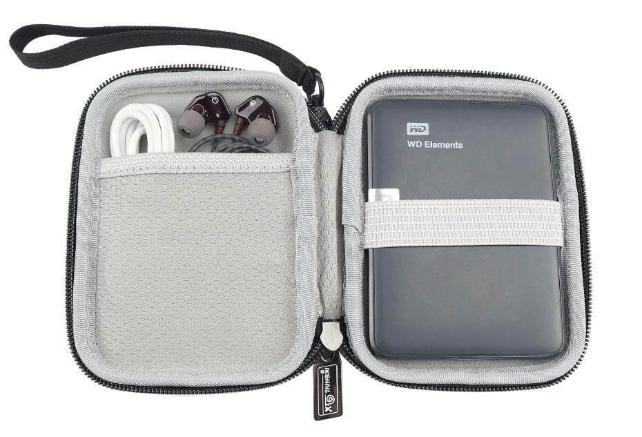 8dbc41862344 IKSNAIL Digital Storage Bag Electronic Accessories Travel Organizer Bag For  Hard Drive Organizers USB Flash Drives Travel Case