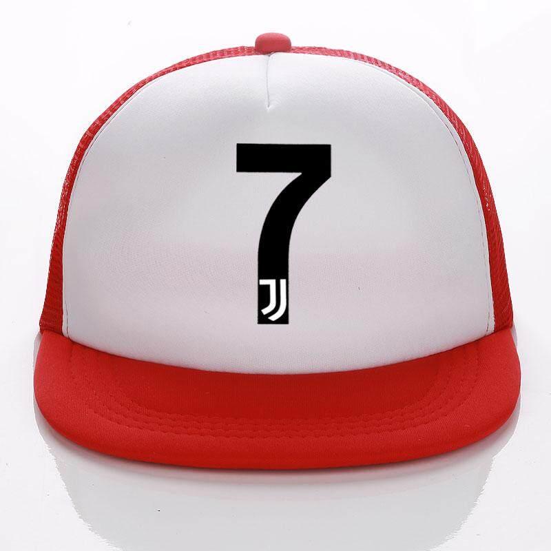 f82691b5b54c2d Product details of juventus hat Kids/Adult Summer Baseball Hat RONALDO Caps  Fans JUVENTUS Trucker Cap Net Snapback hats For Men Women 7 FANS