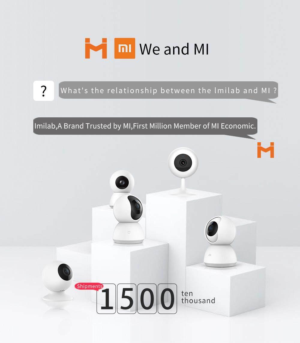 [#1GUARDYOURHOME] NEW 2019 XiaoMi IMILAB MIJIA MI HOME 360 Degree 1080P Pan  Tilt Zoom HD IP Security Camera Wifi CCTV Night Vision Version MIHOME