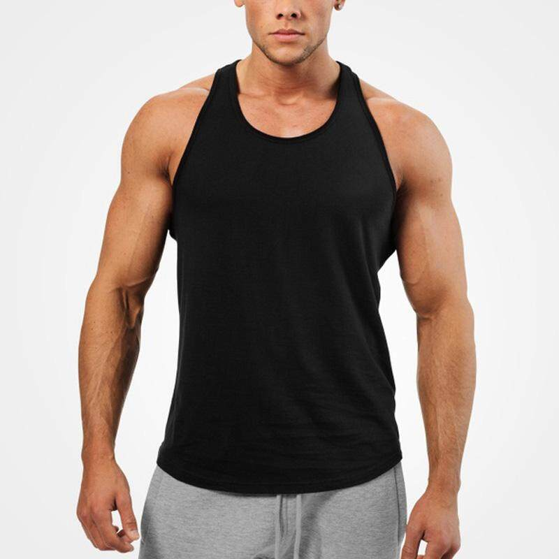 Mens Summer Sleeveless Gym Vest Tank Casual Sports Muscle Tops Fitness T-Shirts