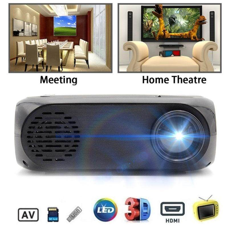GoGoStore HD Home Projector LCD LED BLJ-111 3D AV/USB/HDMI Laptop Home  Theater Kids Projector U-Disk Portable Projector 4k Projector 1080p  Projector