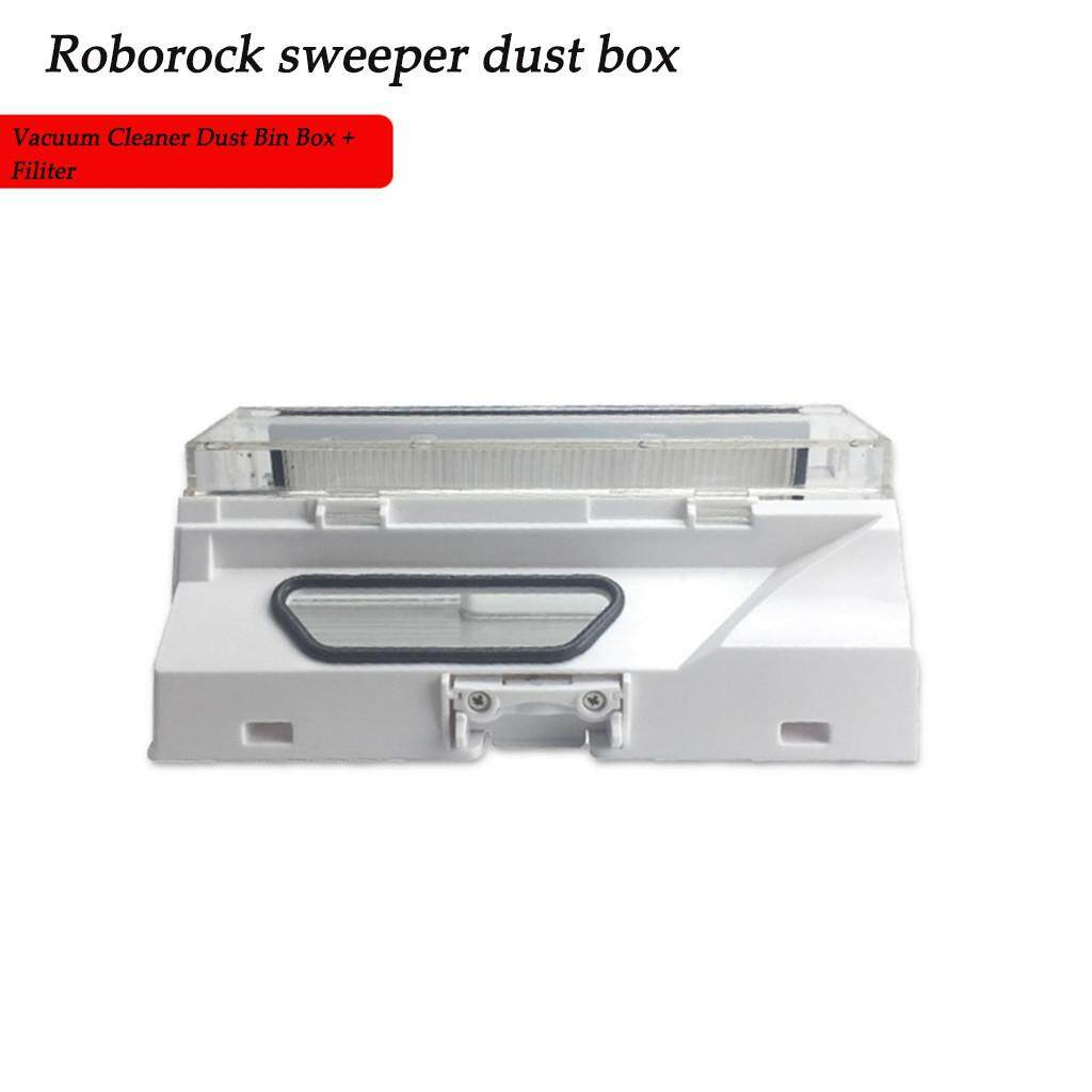 (XGT)_Original- Spare Parts Dust Box Bin For Xiaomi mi Roborock Vacuum  Cleaner S50 S51With Fiter