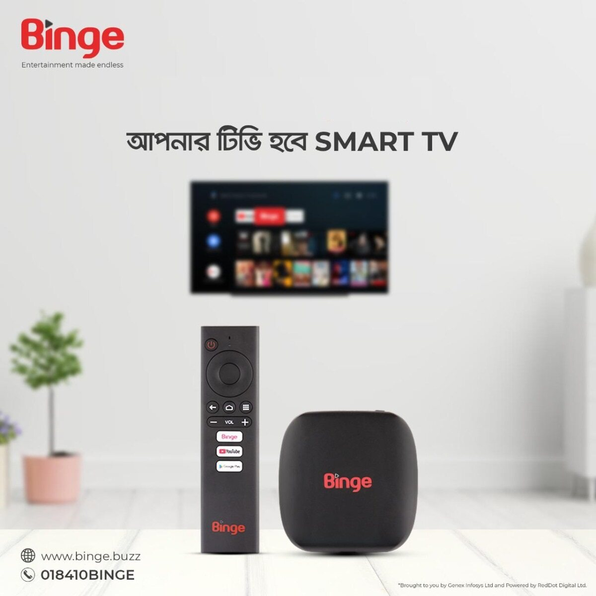 Binge Android TV Box 5