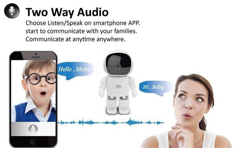 IP cam two way audio 8
