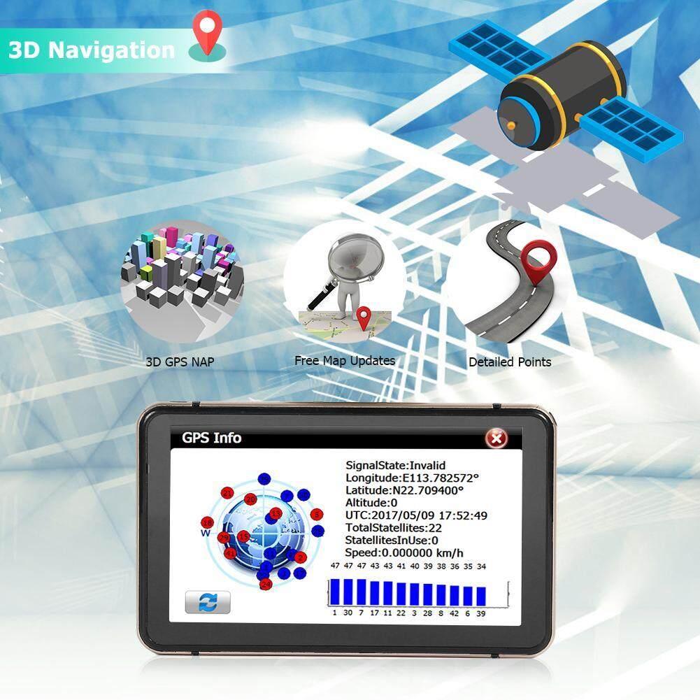 CRT 7 inch Android GPS Navigation Car DVR Camera Sat Nav Bluetooth WiFi  AV-IN