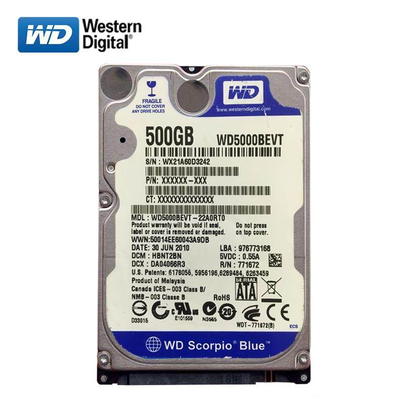 160GB Western Digital Scorpio Blue SATA Laptop Hard Drive With Windows 10 Pro