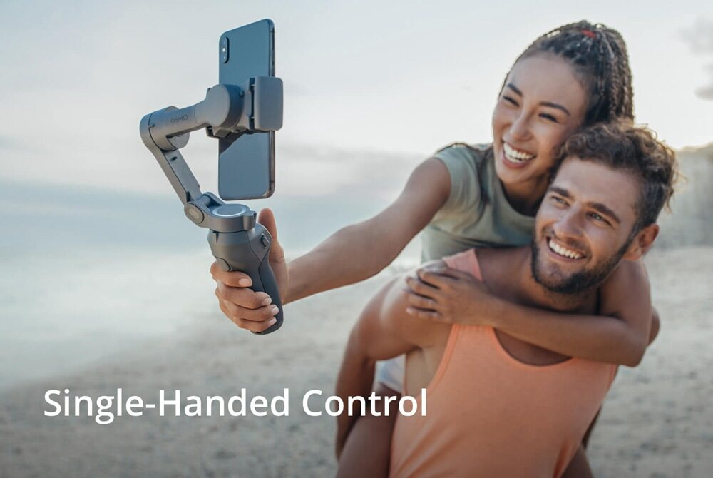 DJI OSMO Mobile 3 Combo Foldable Smartphone 3-Axis Handheld Stabilizer Gimbal With Gesture Control Story Mode