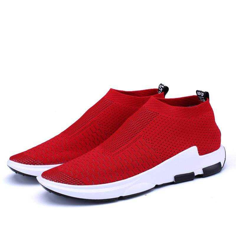 2019 New Knitted Men Running Shoes Mesh