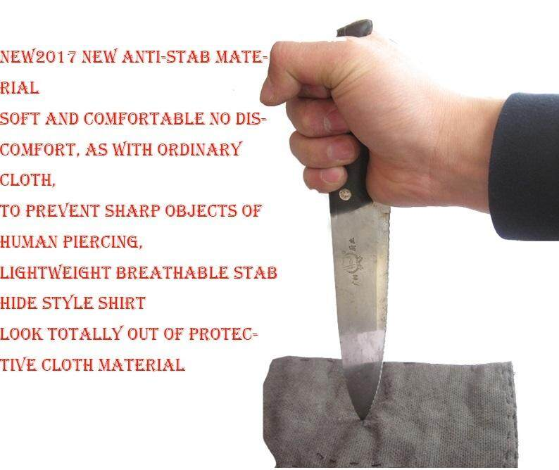 Jackets & Coats Imported From Abroad Self Defense Men Clothing Anti Stab Cut Resistant Anti Sharp Blade Outfit Police Casual Fleece Cotton Jacket Coats Cutfree Tops Customers First