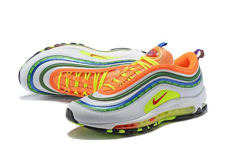 Original Men's Running Shoes Outdoor Sports Shoes Nike Air Max 97 OG QS Footwear Designer Athletic 2019 New Listing 917646 004